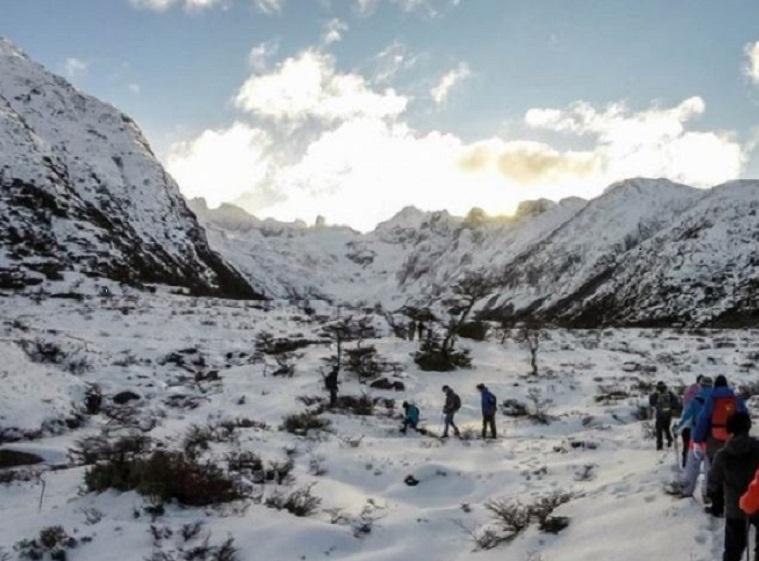 Trekking Ushuaia En Invierno Qué Hacer En Ushuaia Info